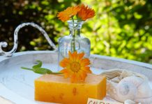 Natural handmade soap can replace tonics and lotions.